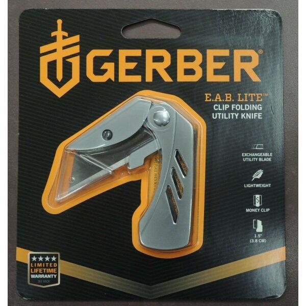 Gerber E.A.B LITE Messer Utility Knife Taschenmesser wechselbare Klinge Geldclip