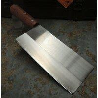 Haller Chinesisches Kochmesser Küchenmesser Edestahl Bubinga-Holz
