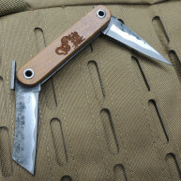 Shadow Cutlery DABURU Friction Folder Taschenmesser 3Cr13 Stahl Bambusgriff