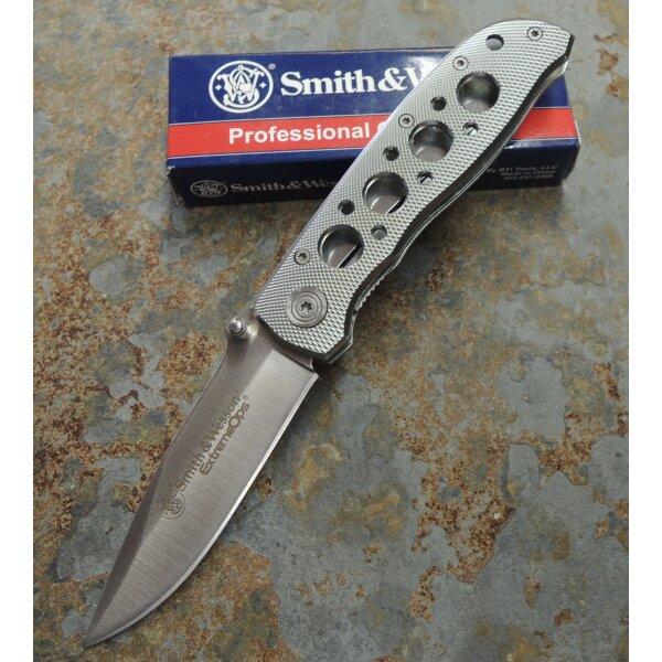 Smith & Wesson Extreme Ops Taschenmesser Einhandmesser 440A Stahl SW105H