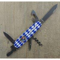 Victorinox Spartan Bayern Raute Schweizer Messer Bayerisches Wappen 1.3603.7E6