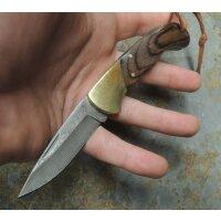 Albainox DAMASCUS ALPACER Messer Backlock Damaststahl Staminaholz