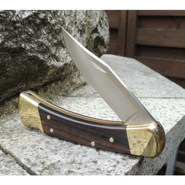 BUCK KNIVES FOLDING HUNTER 110 Messer Taschenmesser Backlock 420HC Stahl Etui