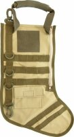Carry All Weihnachtssocke Tactical Stocking Desert Tan...
