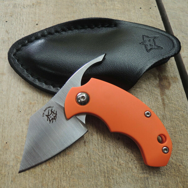 Fox Knives Dragotac BB Orange Friction Folder Messer N690 Bastinelli Design