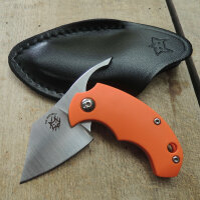 Fox Knives Dragotac BB Orange Friction Folder Messer N690...