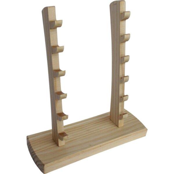 Haller Messersteller Holzsteller Messerständer für 6 Taschenmesser 60989