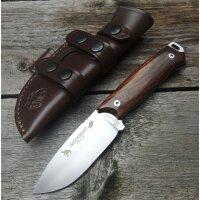 J&V Adventure Knives CHACAL BUSHCRAFT COCOBOLO Messer 4116 Stahl Cocoboloholz