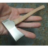 Marbles MINI AXE SATIN Mini Axt Winziges Beil Holzgriff Lederscheide Gimmick