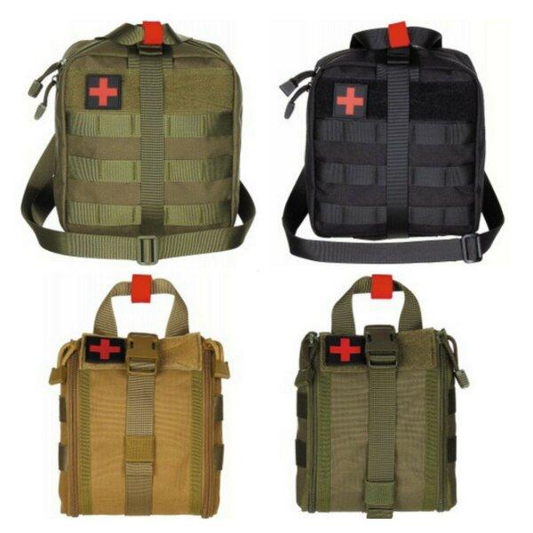 "MFH Molle Tasche "" Erste Hilfe "" First Aid Tactical Bag 2 Größen versch. Farben"