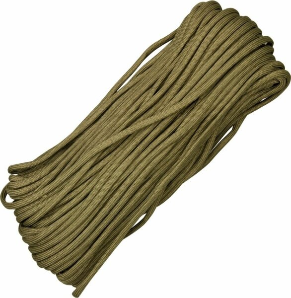 (0,36€/m) Paracord COYOTE 30,48 Meter Rope Seil  7 Strang 550 lbs Zuggüte