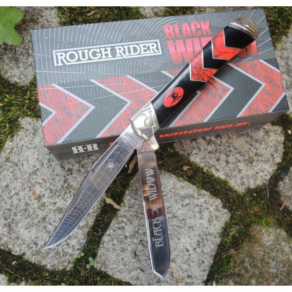 Rough Rider BLACK WIDDOW Trapper Messer Taschenmesser Geschenkbox RR1670