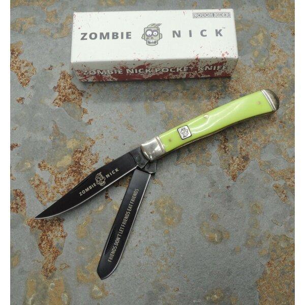 Rough Rider Zombie Nick Trapper Messer Taschenmesser Kunststoffgriff  RR1452