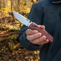 SOG Terminus XR G10 Crimson Messer Taschenmesser D2 Stahl XR-Lock Flipper