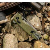 SOG Terminus XR G10 Olive Drab Messer Taschenmesser D2...