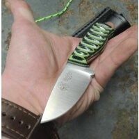 J&V Forester Knives HOBBIT TRF REPTIL Jagdmesser Neckknife MoVa Stahl + Scheide