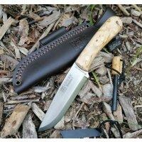 Joker MONTANERO SCANDI Bushcraft Messer 14C28N Stahl...