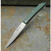 Maserin E.D.C. Knife GREEN Messer D2 Stahl G10 Griff Slipjoint