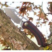 TUYA KNIFE Messer KOSTOBA Flipper N690 Stahl G10 /...