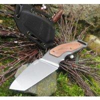 Walther IAK 2 XXL Integral Adeventure Knife Tanto Messer 440C Stahl Kydex 7,5 mm