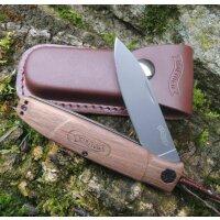 Walther Messer BWK 5 Blue Wood Knife Zweihandfolder 440C...