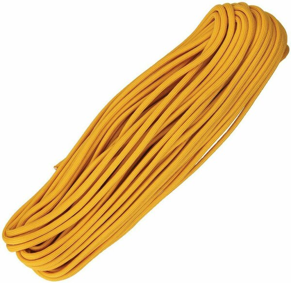 (0,36€/m) Paracord Seil AIR FORCE GOLD 30,48 Meter Rope 7 Strang 550 lbs Zuggüte