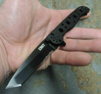 CRKT Messer M16-10 Special Forces BLACK Messer 8Cr13MoV Stahl by Kit Carson