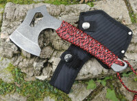 """FOX Outdoor """" Red Rope """" Axt Campingaxt..."""