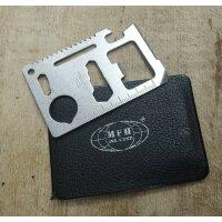 MFH Pocket Tool Credit Card Multitool Werkzeug im...