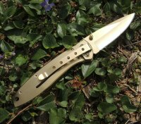 Smith & Wesson Messer Executive gold Taschenmesser...