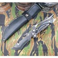 S-Tec MULTI USE Fixed Blade Multifunktional 440 Stahl...