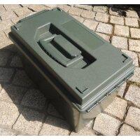 US Munitionskiste Kaliber Cal. 50 Kiste Kunststoffbox...