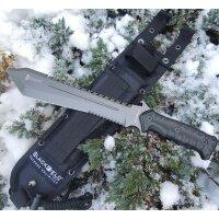 Blackfield HAMMER Messer Buschmesser Machete 440 Stahl +...