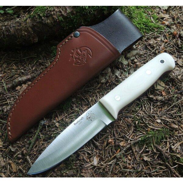 J&V Forester Knives Bushcraft Knife Outdoormesser 12C27 Sandvik Stahl Micarta
