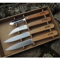 Opinel Küchenmesserset LES ESSENTIELS 4 Messer...