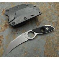 Sanrenmu Outdoormesser S615 Messer EDC 8Cr14MoV Stahl G10...