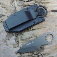Schrade Credit Card Full Tang Messer Mini Messer Scheide...