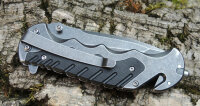 Smith & Wesson Border Guard Rescue Knife 7Cr17 Stahl...
