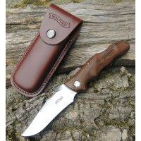 Walther AFW Adventure Folder Wood Messer Taschenmesser...