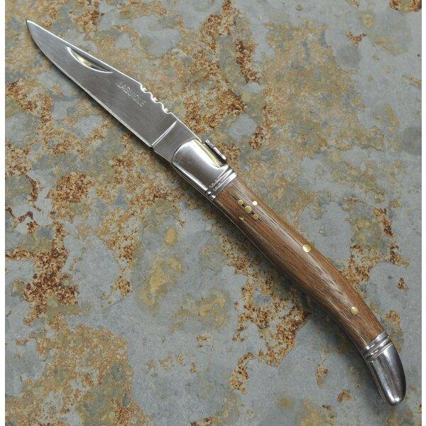 Laguiole Messer Brotzeitmesser Taschenmesser 3Cr13MoV Stahl Holzgriff