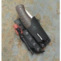 BUCK KNIVES 836 FOLDING SELKIRK Messer 420HC Stahl Micarta Scheide Feuerstarter