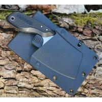 Gerber TRI-TIP Messer Mini Cleaver Messer 7Cr17MoV Stahl Multi Mount Scheide