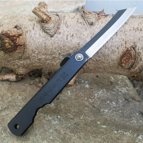 Higo Kyoso Messer Taschenmesser 7Cr17 Stahl Friction Folder Metallgriff