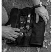 Real Steel EDC ROLL Messertasche Knife Bag Sammlertasche Präsentationsmappe
