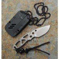 """Sanrenmu """"The Violet"""" Messer 4101 Neck Knife..."""