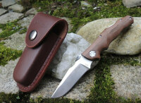 Walther AFW2 Adventure Folder Wood Small Taschenmesser...