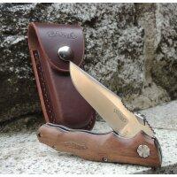 Walther AFW2 Adventure Folder Wood Small Taschenmesser AUS-8 Stahl Walnussholz