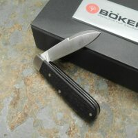 Böker Barlow Prime Hainbuche Messer Slipjoint Taschenmesser N690 Holzgriff