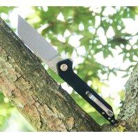 CJRB Cutlery Messer RAMPART Linerlock Flipper D2 Stahl...