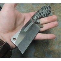 Marbles Messer Fahrtenmesser Mini Cleaver G10 Griff Nylonscheide MR560